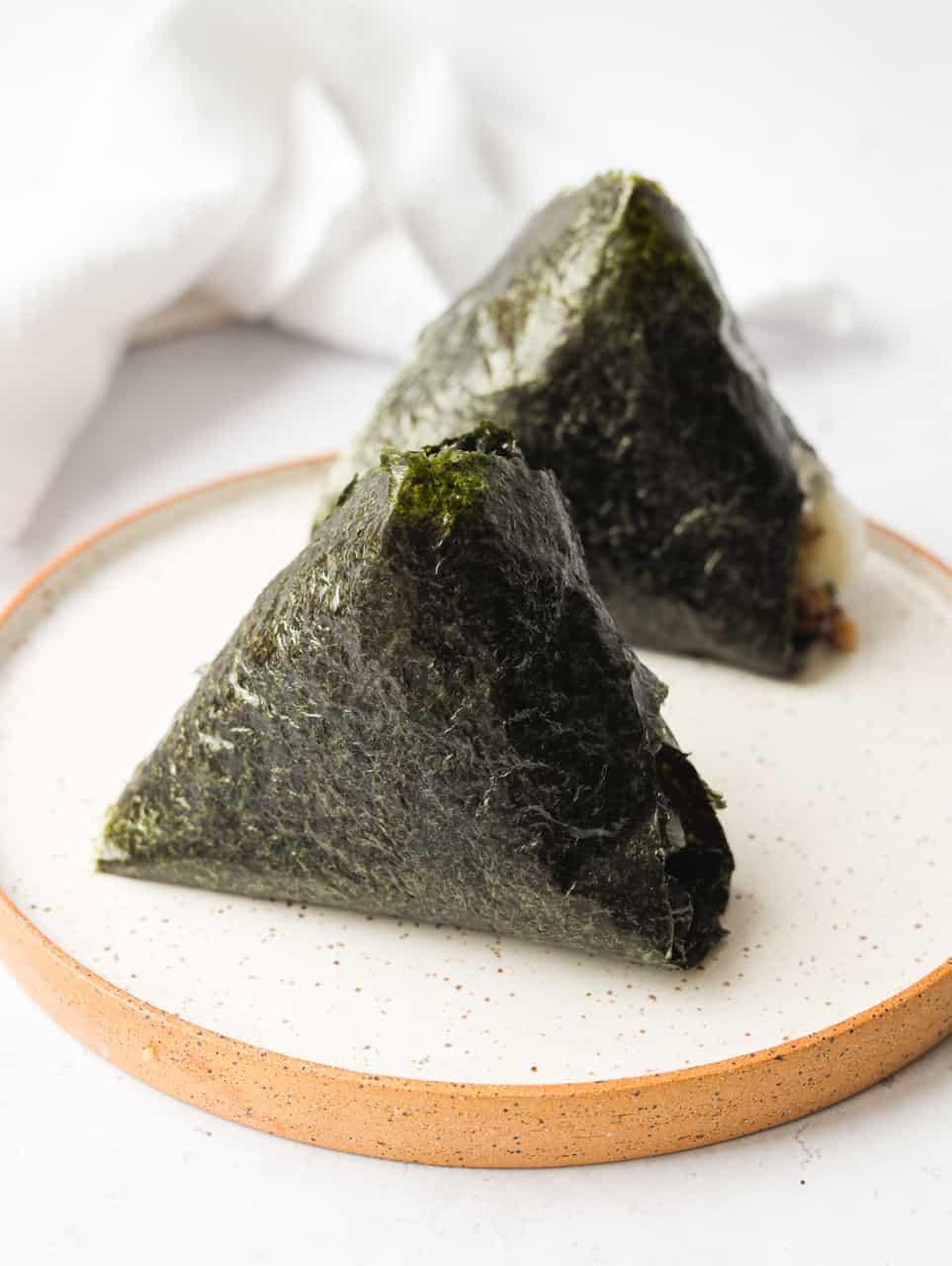 Bulgogi Beef Triangle Kimbap